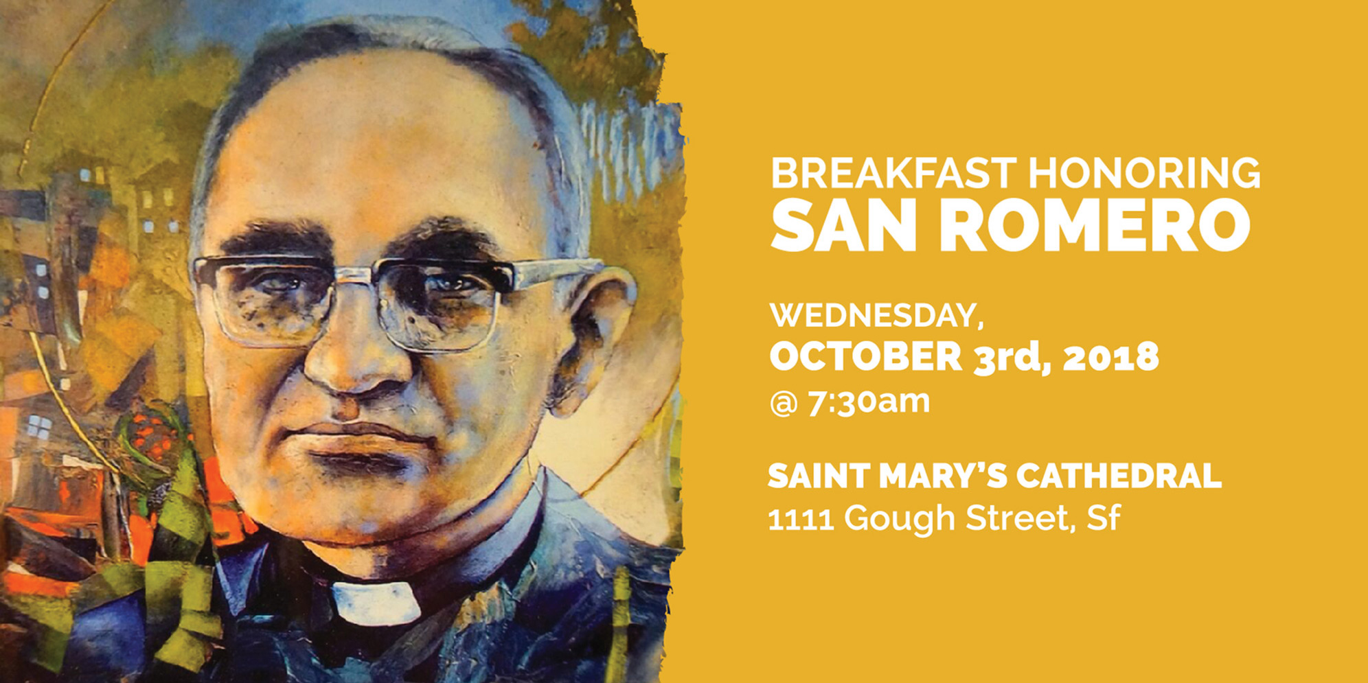 Breakfast Honoring San Romero