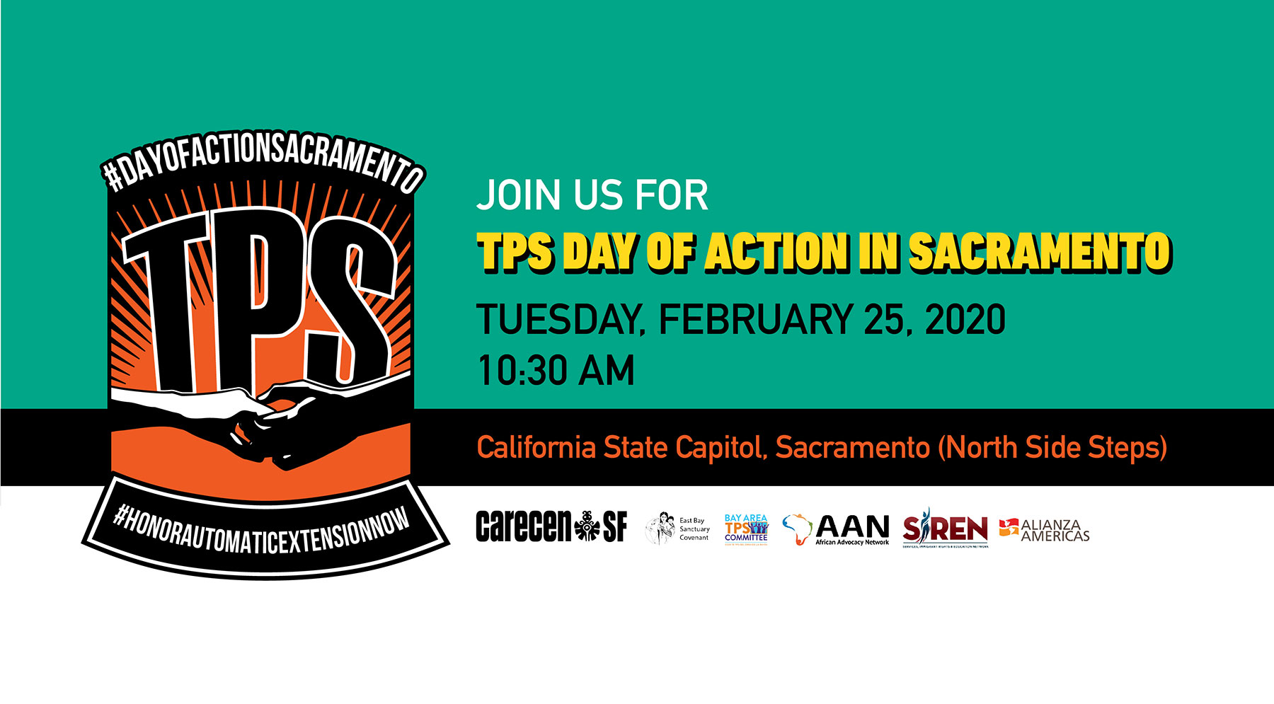 TPS Day of Action in Sacramento