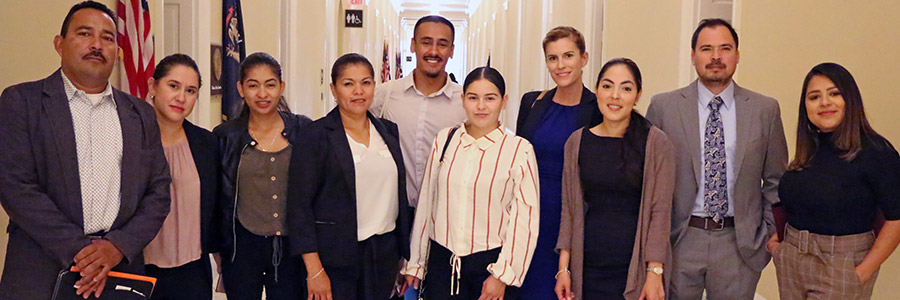 Legislative Visits 2019-09-09