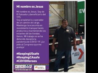 TPS Essential Workers #KeepingUSsafe #KeepingCAsafe
